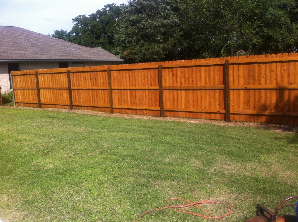 Fence Stain Flash Fence Of College Station
