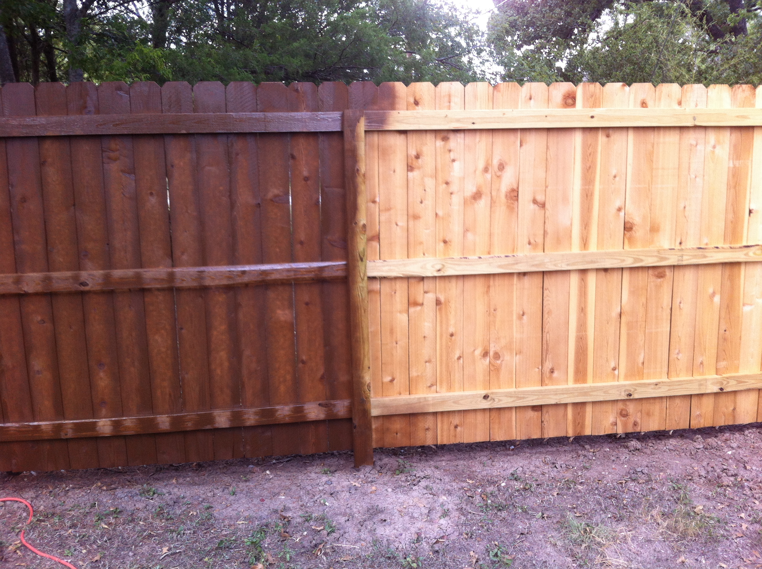 Fence stain in college station tx flash