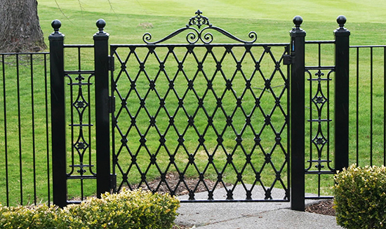 wrought-iron-fences-college