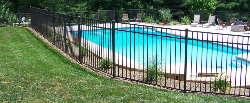 Choosing a fence for your swimming pool area in college - Swimming pools in college station tx ...